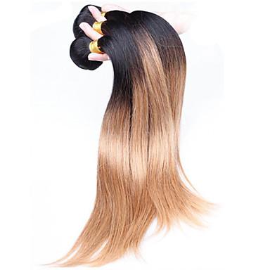 Brazil haj Egyenes Emberi haj sző 3 Ombre