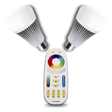 1set 8 W 560 lm E27 Okos LED izzók 16 led SMD 5050 Tompítható Dekoratív Távvezérlésű RGB Dual Light Source Color AC 100-240