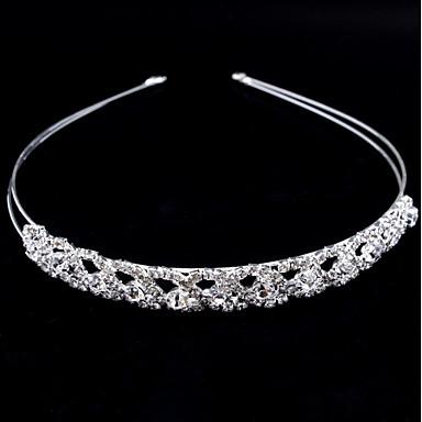Crystal / Imitation Pearl Headbands with 1 Wedding / Party / Evening Headpiece