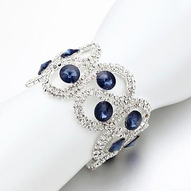 Női Lánc & láncszem karkötők - Divat Karkötők Kék Kompatibilitás Esküvő / Napi