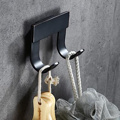 Fürdőköpeny akasztó Archaikus Vintage Sárgaréz 1 db - Hotel fürdő