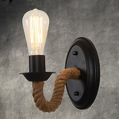 Vintage / Country Wall Lamps & Sconces Metal Wall Light 110-120V / 220-240V 40W