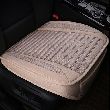 رخيصةأون اكسسوارات السيارات الداخلية-1 قطعة سائد مقعد السيارة وسائد مقعد أسود البوليستر المشتركة ل العالمي