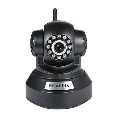 HOMEDIA 1.0 MP 屋内 with 赤外線カット プライム Max 64GB Supported, but micro sd card/TF card not included in the package(デイナイト モーション検出 デュアルストリーム