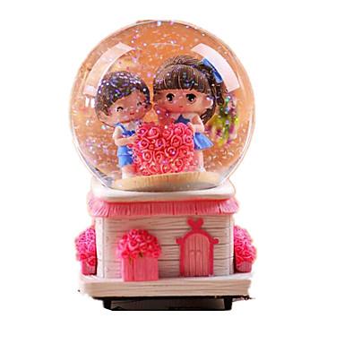 Labdák Zenedoboz Light Up Játékok Hógömb Rajzfilmfigura Foszforeszkáló Gyermek Felnőttek Gyerekek Ajándék Uniszex