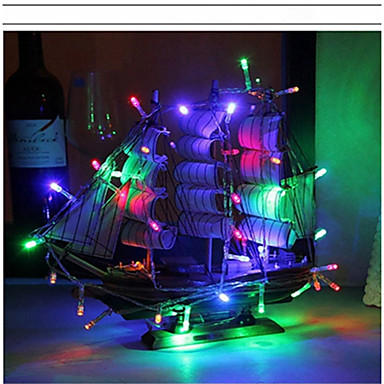 2m String Lights 20 LEDs Warm White / RGB / White Battery / IP65