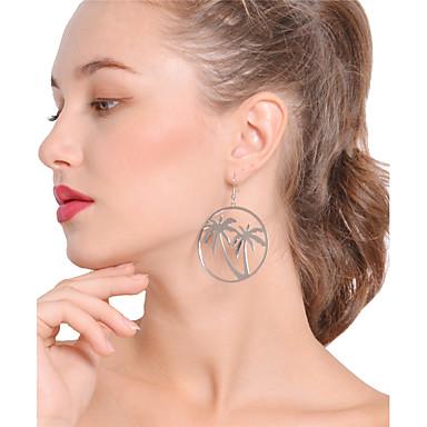 Women's Drop Earrings / Hoop Earrings - Tree of Life Bohemian, Boho, Oversized Gold / Silver For Party / Daily