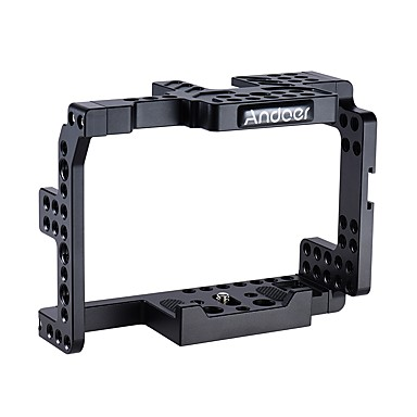Andoer Aluminum Alloy Camera Cage for Sony  A7II A7RII A7SII ILDC Cameras