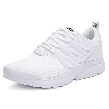 Férfi cipő Tüll / PU Tavasz / Ősz Kényelmes Sportcipők Futócipő Fekete / Szürke / Fekete / fehér