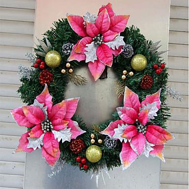 Girlandok Karácsony / Ünneő / Rajzfilmfigura Kör Karácsony / Parti Karácsonyi dekoráció