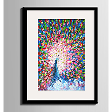 Bekeretezett vászon Bekeretezett szett Absztrakt Állatok Wall Art, PVC Anyag a Frame lakberendezési frame Art Nappali szoba Hálószoba