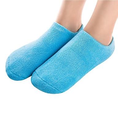 abordables Accessoires pour Chaussures-2pcs Antidérapant Absorption des chocs Couvre-chaussures Gel Toutes les Chaussures Toutes les Saisons Femme Bleu Rose