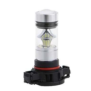 2pcs H16 Autó Izzók 100W SMD LED 8000lm 20 Ködlámpa For Univerzalno Összes modell Minden évjárat