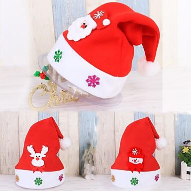 Ünnepi Dekoráció Emberek / Hóember / Santa Tároló táska / Nyakpántok és kalapok / Díszítések Szabadság 1db / Christmas