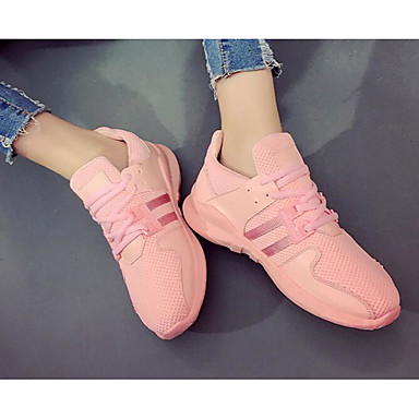 Women's Shoes Canvas Spring Summer Comfort Sneakers for Casual White Black Pink