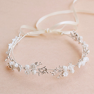Crystal / Alloy Tiaras / Headbands / Headwear with Floral 1pc Wedding / Special Occasion / Party / Evening Headpiece
