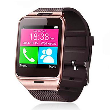iphone6 android telefon için nfc kamera işlevi bluetooth sim kart kol saati orijinal akıllı izle aplus gv18