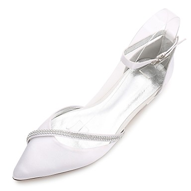6de5978bd8 cheap Wedding Shoes-Women's Wedding Shoes Flat Heel Pointed Toe /