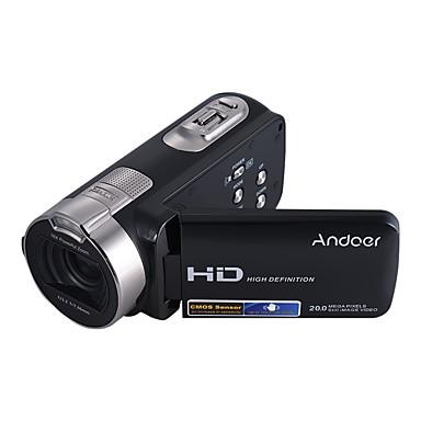 andoer hdv-312p 1080p teljes HD digitális videokamera hordozható otthoni használatra szánt dv 2,7 hüvelykes forgó LCD képernyővel max. 20