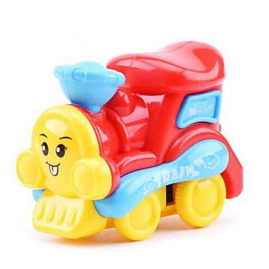 Játékautók Felhúzós járművek Hátrahúzós autó Vonat Repülőgép Vonat Autó Műanyagok Uniszex Gyermek Ajándék
