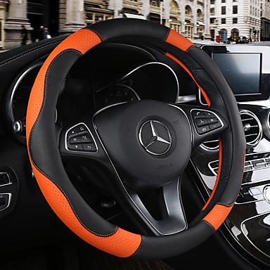 abordables Accessoires Intérieur de Voiture-Protège Volant 38cm Bordeaux / Orange / Jaune Pour Chevrolet Aveo / Cruze / Epica
