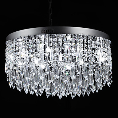 SL® Cristal Montaj Flush Lumini Ambientale - Cristal, 110-120V / 220-240V Bec Inclus / G4 / 50-60㎡