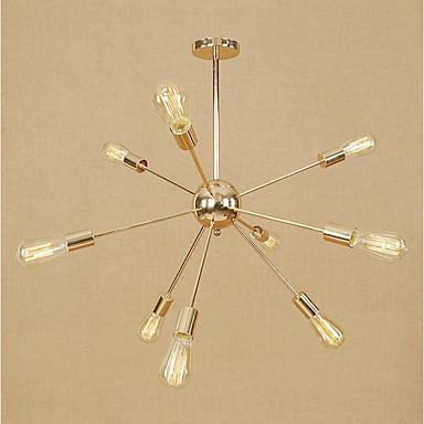 9-Light Sputnik Chandelier Ambient Light - Mini Style, Adjustable, Designers, 110-120V / 220-240V Bulb Not Included / 15-20㎡ / E26 / E27