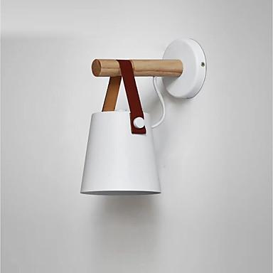 Moderno - Contemporaneo Lampade Da Parete Camera Da Letto Metallo Luce A Muro 110-120v - 220-240v - E26 - E27 #06297723