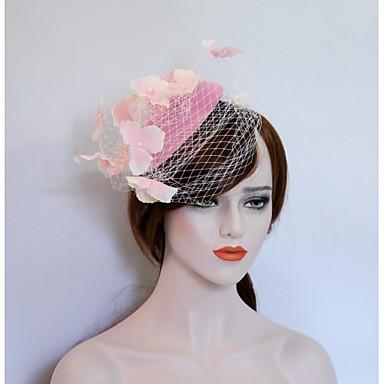 3a71c46e958aa Tulle   Flannelette Fascinators   Birdcage Veils with 1 Wedding   Party    Evening Headpiece
