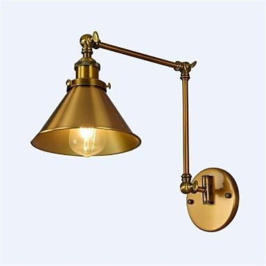 Simple / Vintage / Retro Swing Arm Lights Metal Wall Light 110-120V / 220-240V / E26 / E27