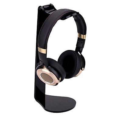 miimall univerzális fejhallgató állvány akril l-alakú fülhallgató tartó fejhallgató állvány fejhallgató rack iphone samsung pc