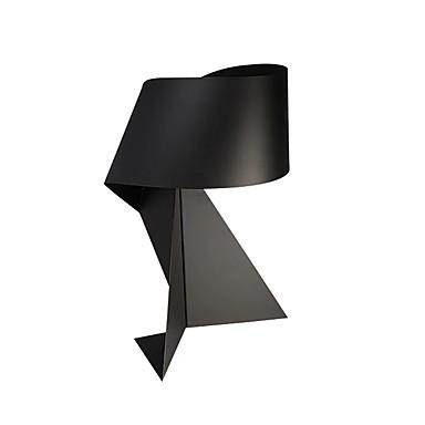 Modern stílus Ambient Lamps / Újdonságok Asztali lámpa Kompatibilitás Fém 110-120 V / 220-240 V Fehér / Fekete