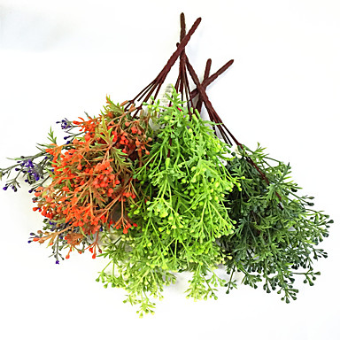 Művirágok 3 Ág Rusztikus Stílus Növények Asztali virág