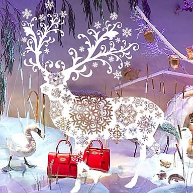 Animales navidad caricatura pegatinas de pared calcoman as for Calcomanias para paredes decorativas