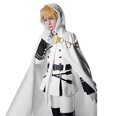 Εμπνευσμένη από Σεραφείμ του Τέλους Στολές Ηρώων Anime Στολές Ηρώων Κοστούμια Cosplay Patchwork Πουκάμισο Κορυφή Φούστα Ζώνη Καλσόν Για