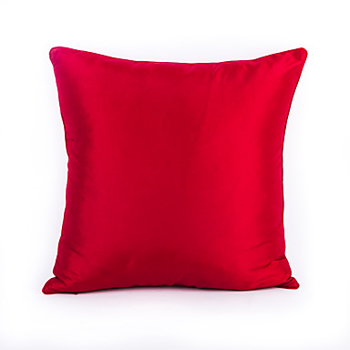 1 pcs Polyester Pillow Case, Solid Colored Traditional/Classic