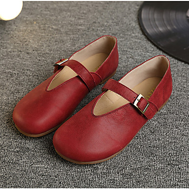 Café Jane Vert Femme Printemps Chaussures Cuir Ballerines Mary Nappa 06303286 Rouge Automne vqY8nvZ