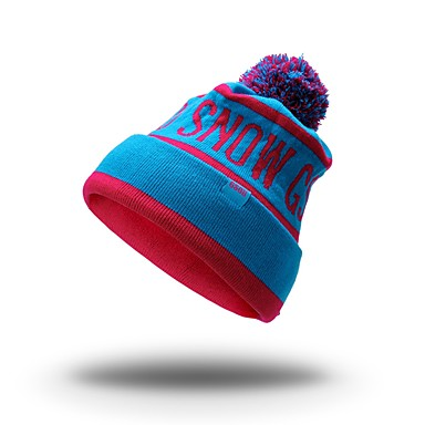 Ski Skull Cap Beanie Windproof / Anti-Slip Snowboard Cotton Solid Colored / Letter & Number Winter Sports Winter