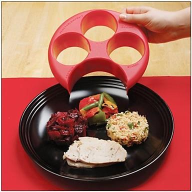 egészséges vörös étkezés intézkedés tökéletes adag súly kontroll lemez táplálék fogyás vezérlőlemez