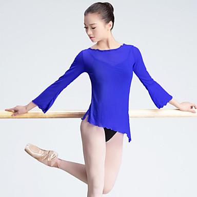 Balett Női Teljesítmény Tüll Hosszú ujj Felső