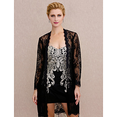 Lace Wedding / Party / Evening Women's Wrap With Lace Coats / Jackets