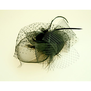 Feather / Net Fascinators / Flowers with 1 Wedding / Special Occasion Headpiece