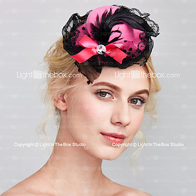 Tulle / Fabric Fascinators with 1 Wedding / Special Occasion Headpiece