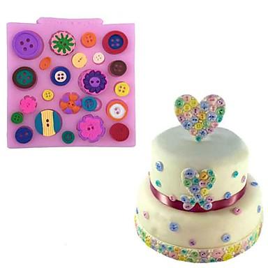 Bakeware eszközök Szilikon Sütés eszköz / 3D / Kreatív Konyha Gadget Torta / Keksz / Cupcake 3D süteményformákba