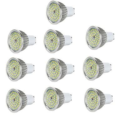 10pcs 6W 600lm E14 / GU10 / GU5.3 LED szpotlámpák 48 LED gyöngyök SMD 2835 Dekoratív Meleg fehér / Hideg fehér 85-265V / RoHs