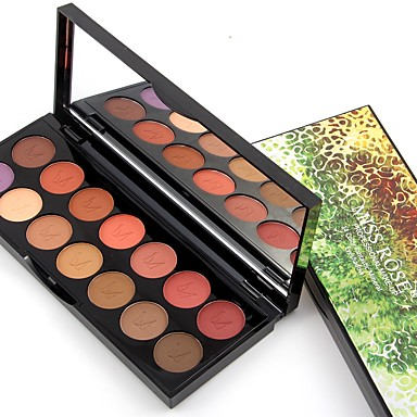 14 Colors Eyeshadow Palette Safety Daily Makeup / Halloween Makeup / Party Makeup Daily Makeup Cosmetic / Matte