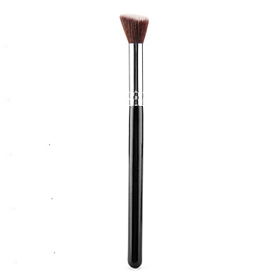 Silver Cosmetic Soft Synthetic Small Blending Concealer Foundation Brush