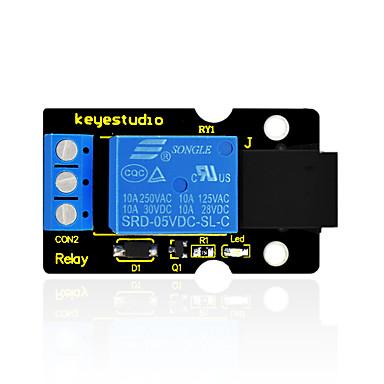 voordelige Elektrische apparatuur & benodigdheden-keyestudio easy plug single relay module voor arduino