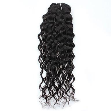1 csomagot Perui haj Hullám Kémiai anyagoktól mentes / nyers Emberi haj sző Human Hair Extensions / Hullámos