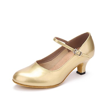 Damskie Buty do tańca nowoczesnego Derma Adidasy Obcas do wyboru Personlaizowane Buty do tańca Złoty